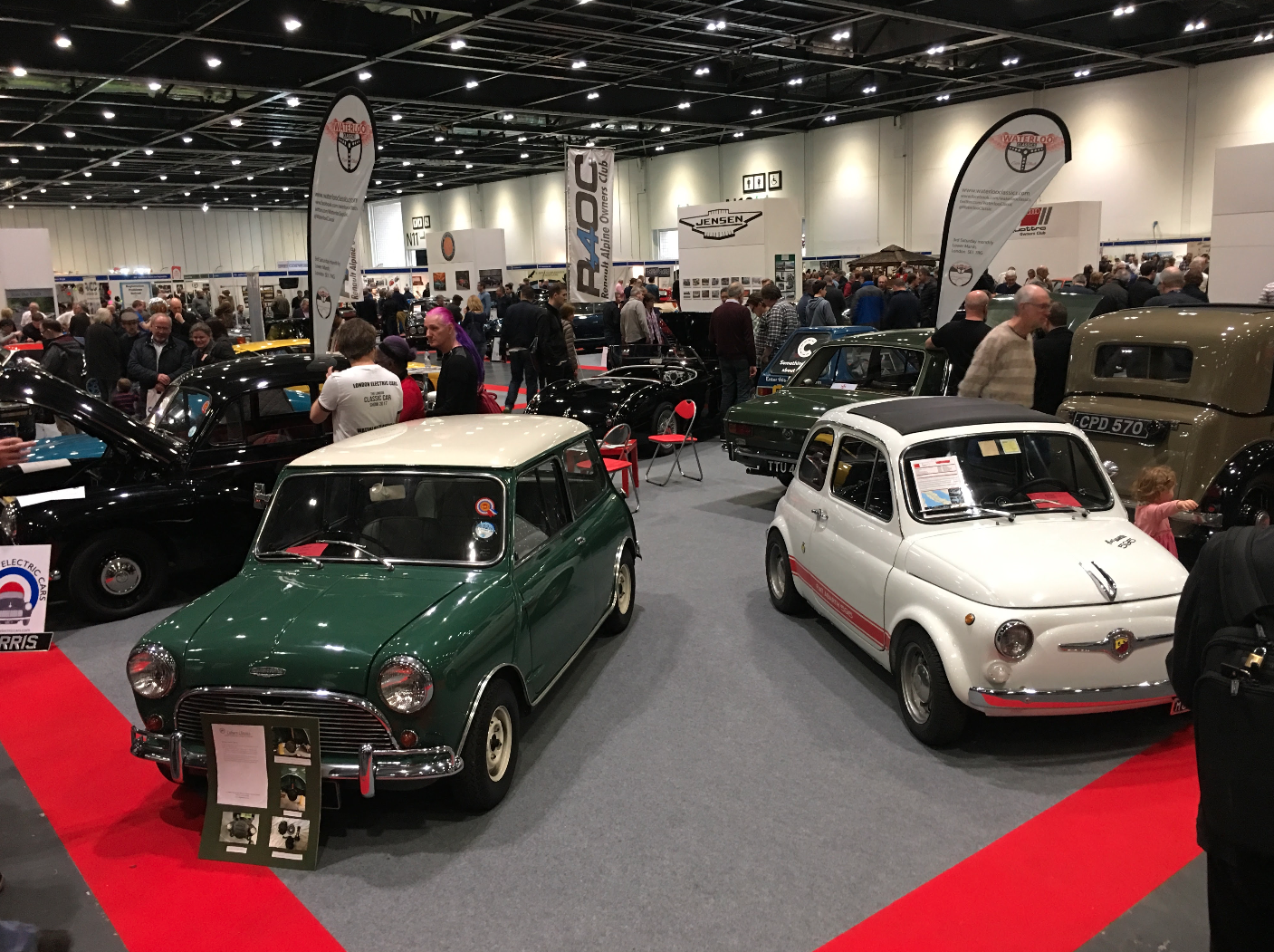 Blog Waterloo Classics - London classic car show