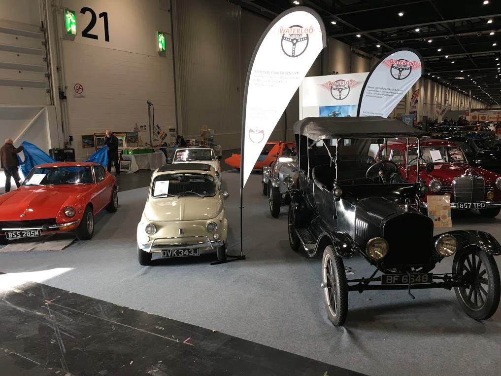February 2018 – London Classic Car Show | Waterloo Classics